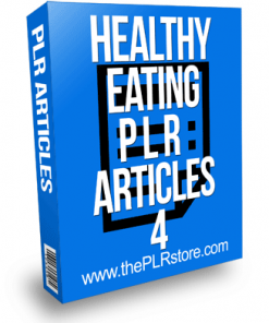 Healthy Eating PLR Articles 4