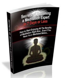 Meditating Like An Expert Ebook MRR