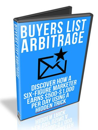 buyers list arbitrage plr videos