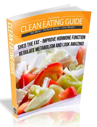 clean eating plr ebook