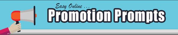 Easy Online Promotion Prompts PLR Autoresponder Messages