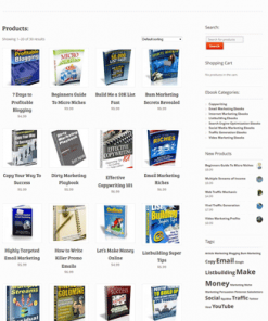 internet marketing plr digital store