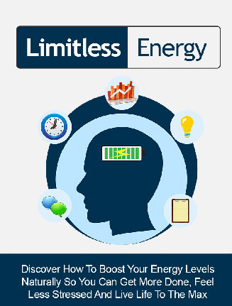 Limitless Energy Ebook and Video MRR Package