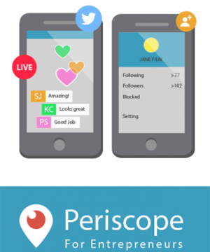 periscope marketing video