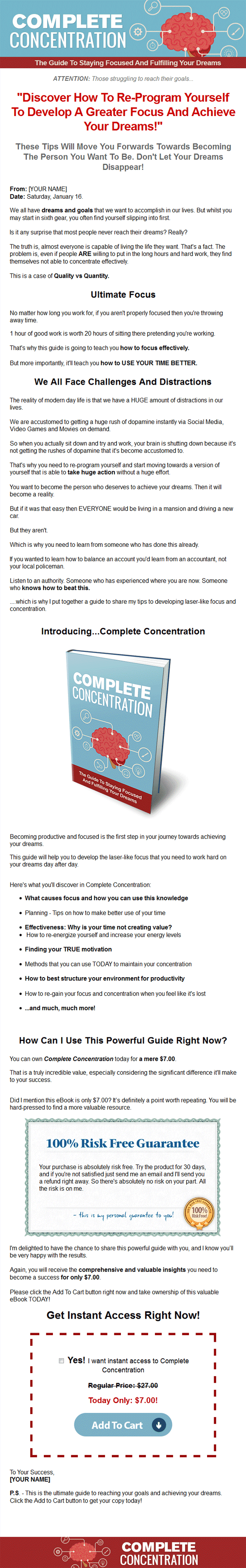 complete concentration ebook