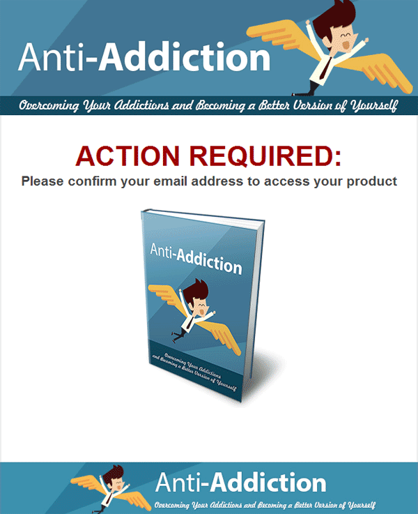 anti addiction ebook