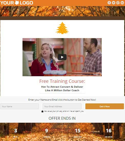 christmas plr squeeze page templates