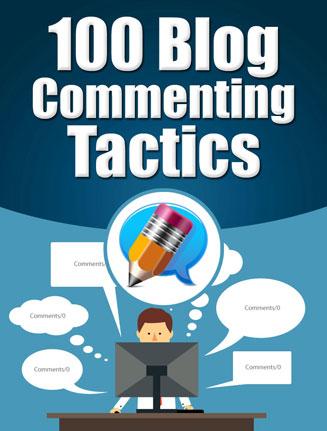 blog commenting tactics report