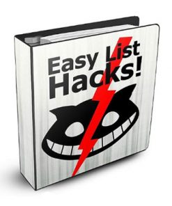 easy list hacks plr rbook