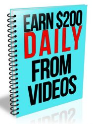 earn $200 daily with video earn $200 daily with video Earn $200 Daily With Video PLR Report earn 200 daily with video plr report 190x250