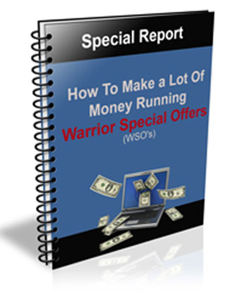 make a lot of money running warrior special offers plr ebook