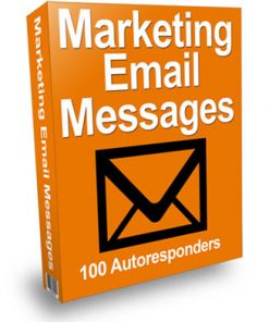 marketing email messages plr autoresponder