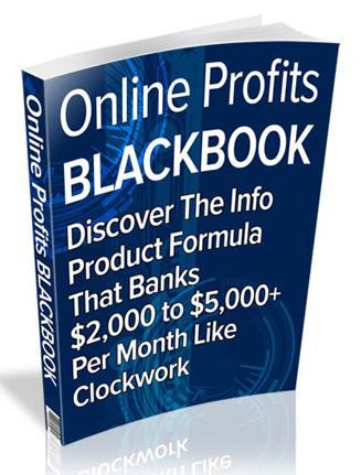 online profits blackbook plr ebook