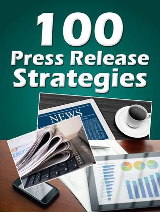 press release strategies report