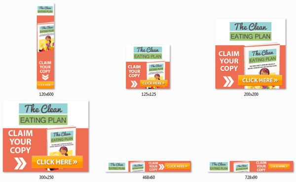 clean eating plan ebook video