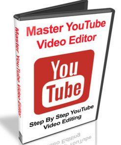 master youtube editor plr videos