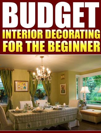budget interior decorating plr ebook