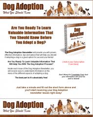 dog adoption plr autoresponder messages