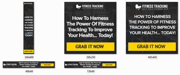 fitness tracking ebook and videos