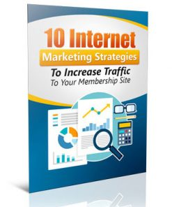 increase traffic to your membership site plr ebook