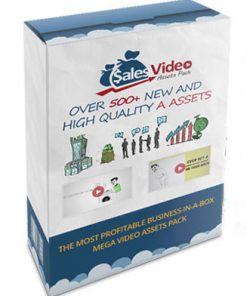 sales video assets plr graphics
