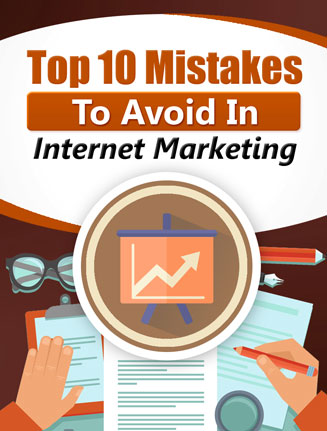top 10 mistakes in internet marketing plr report