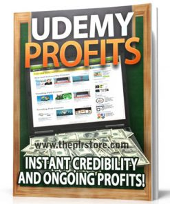 udemy profits plr report