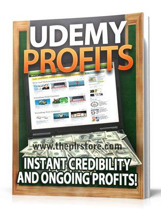 udemy profits plr report