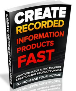 create recorded information products plr ebook