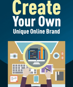 create unique online branding plr report