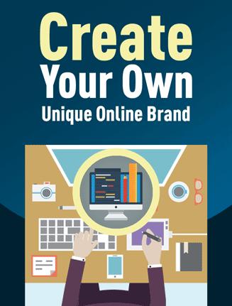 create unique online branding plr report