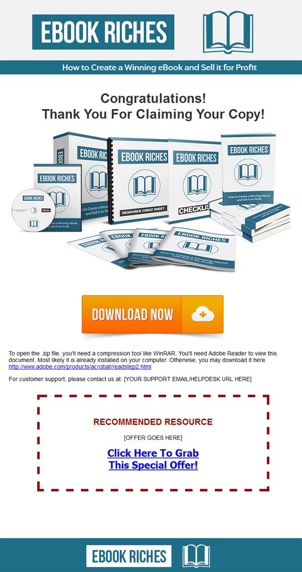 ebook riches ebook and videos