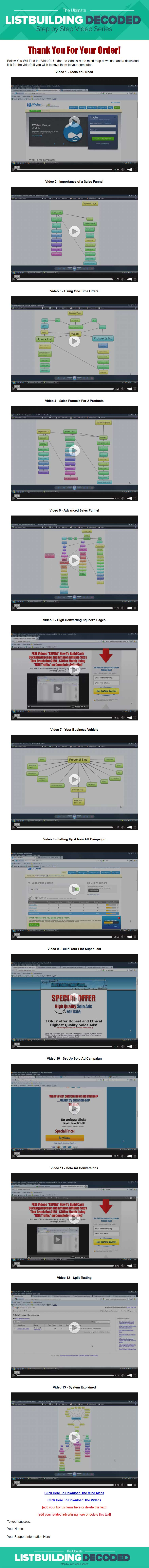 listbuilding decoded plr video ready to sell