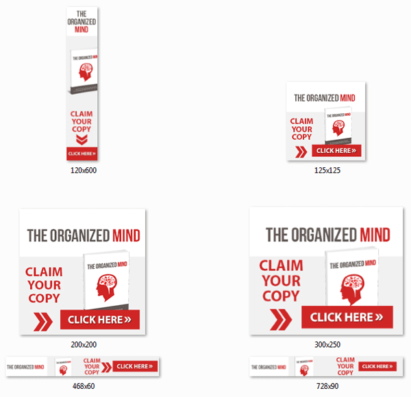 organized mind ebook and videos