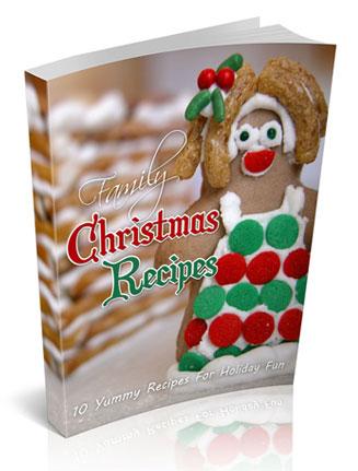 family christmas recipes ebook