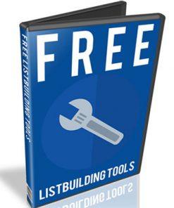 free listbuilding tools plr videos