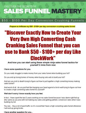 sales funnel mastery plr videos