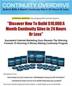 continuity overdrive plr videos
