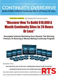 continuity overdrive plr videos ready to sell continuity overdrive plr videos ready to sell Continuity Overdrive PLR Videos Ready To Sell Package continuity overdrive plr videos rts 190x250