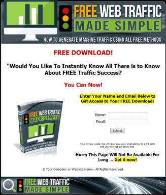 free web traffic ebook