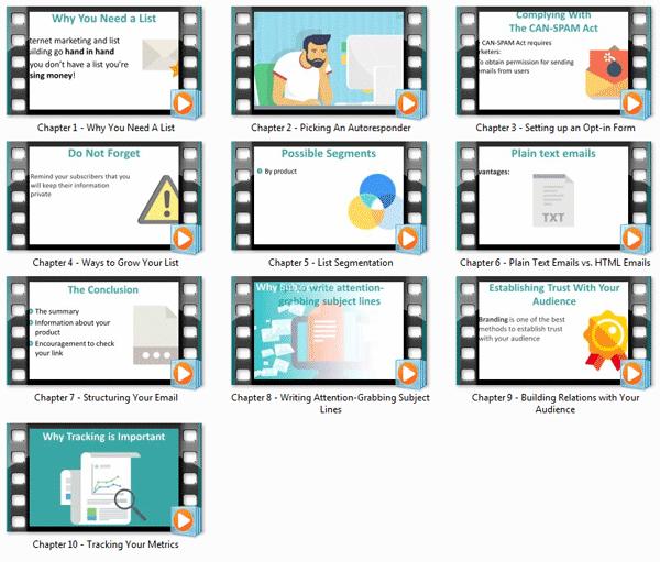 listbuilding expert ebook and videos