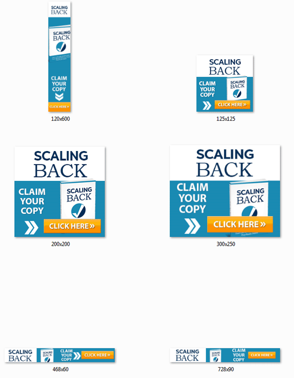 scaling back ebook and videos