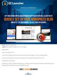 wordpress ez launcher plugin wordpress ez launcher plugin Wordpress EZ Launcher Plugin with Master Resale Rights wordpress ez launcher plugin 190x250