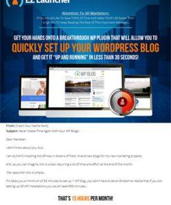 wordpress ez launcher plugin