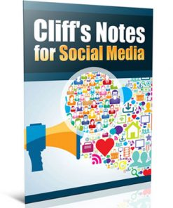 social media marketing cliff notes plr report