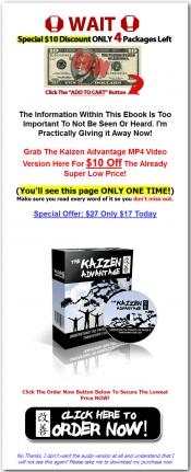 kaizen advantage ebook and videos