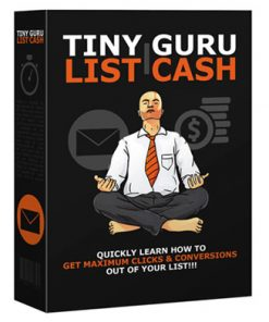 tiny list guru cash plr ebook and videos