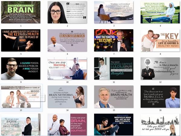 brain health ebook and videos