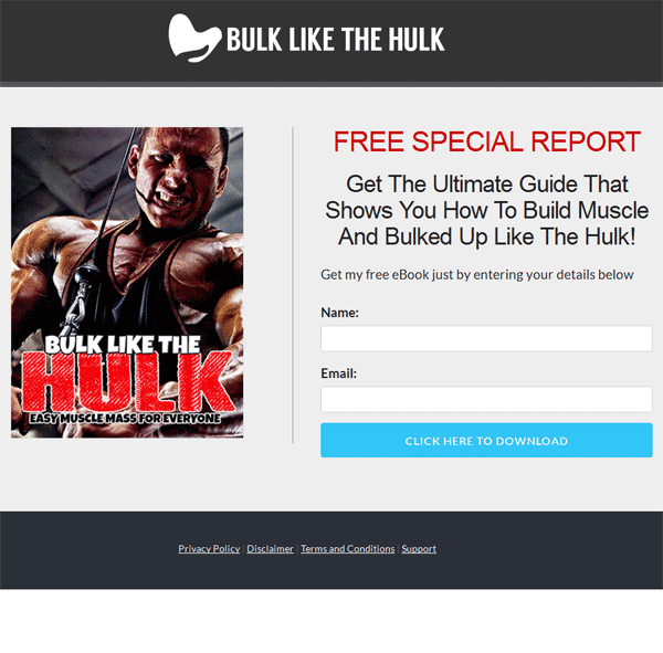 bulk like the hulk ebook and videos