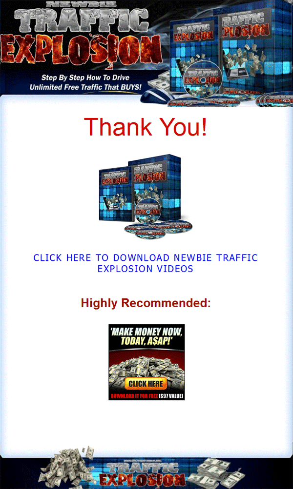 newbie website traffic explosion plr videos